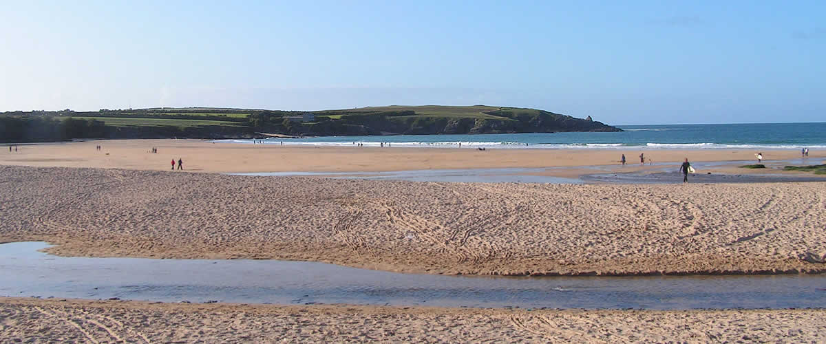 Harlyn Bay is one of our favourite local beaches on the north coast of Cornwall